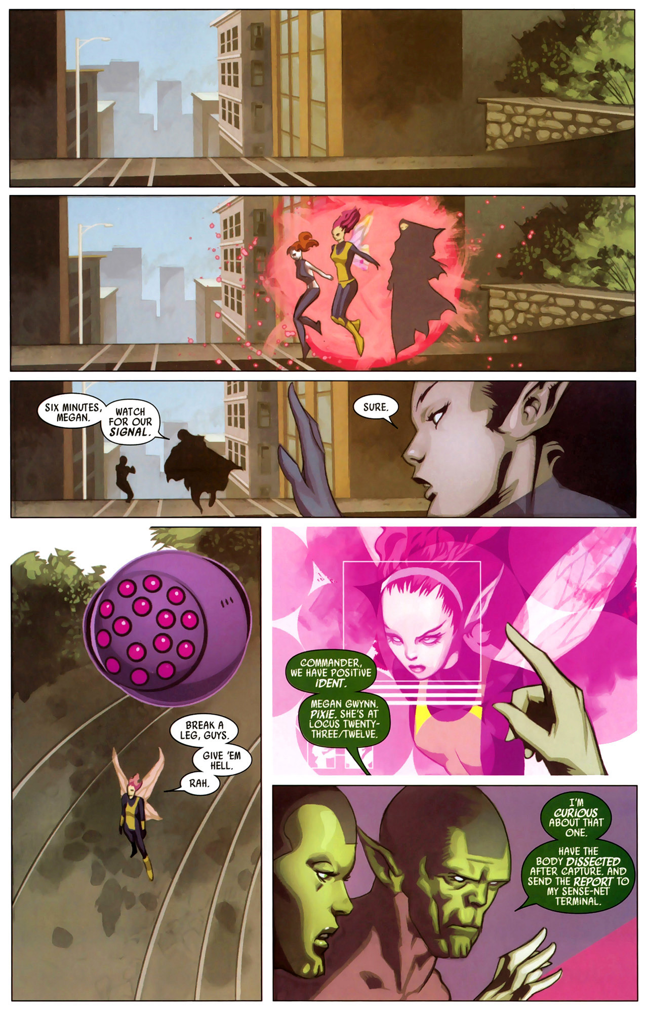 Read online Secret Invasion: X-Men comic -  Issue #2 - 17