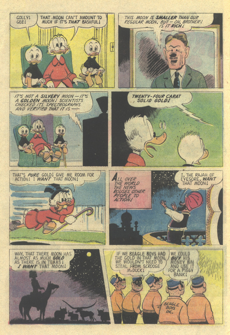 Uncle Scrooge (1953) Issue #135 #135 - English 4