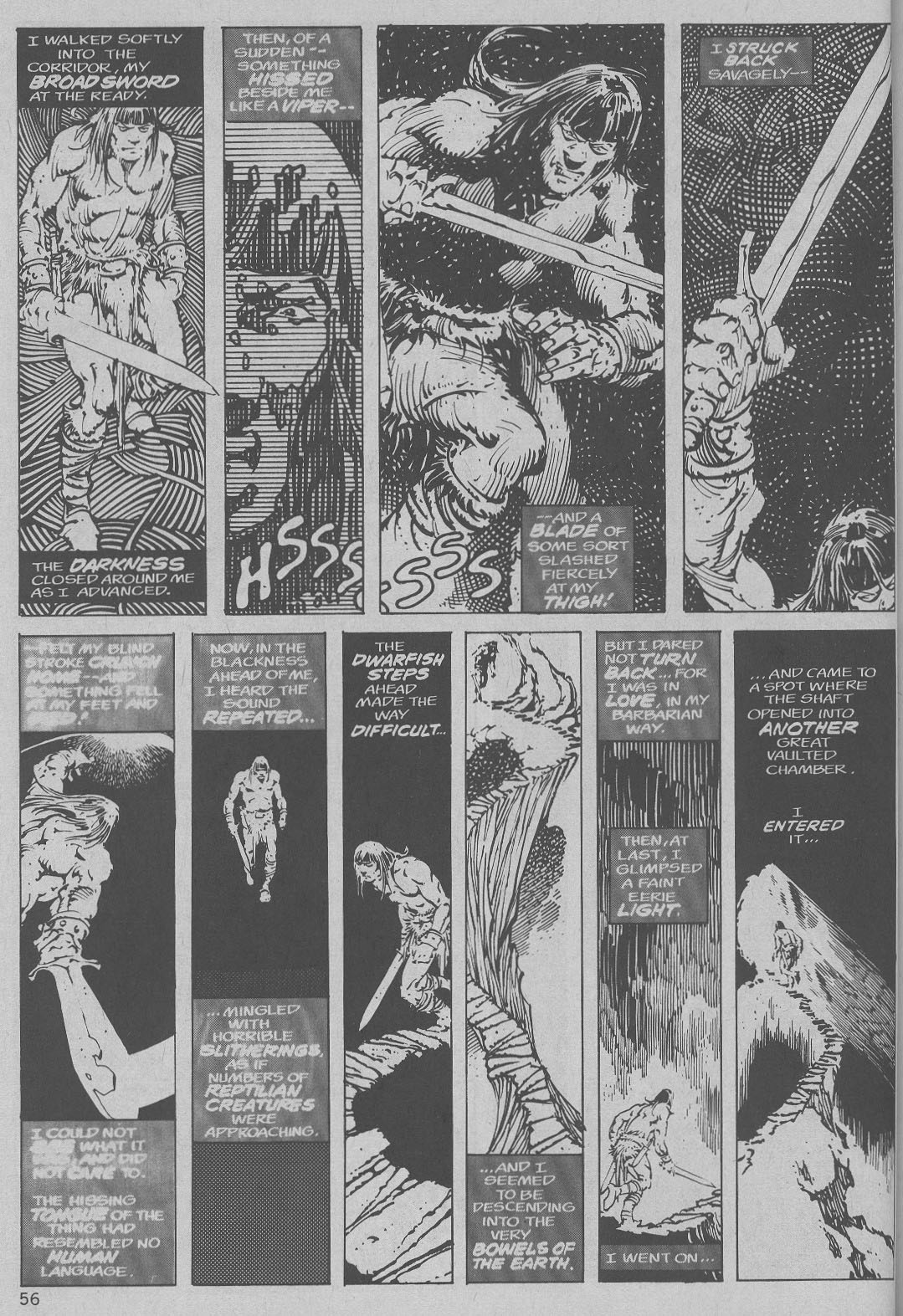 The Savage Sword Of Conan Issue #6 #7 - English 48