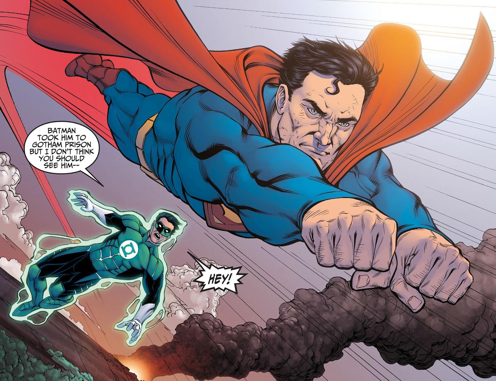 Injustice: Gods Among Us [I] Issue #4 #5 - English 12