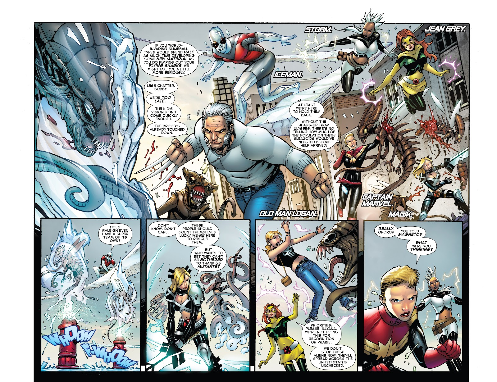 Civil War II: X-Men Issue #2 #2 - English 4