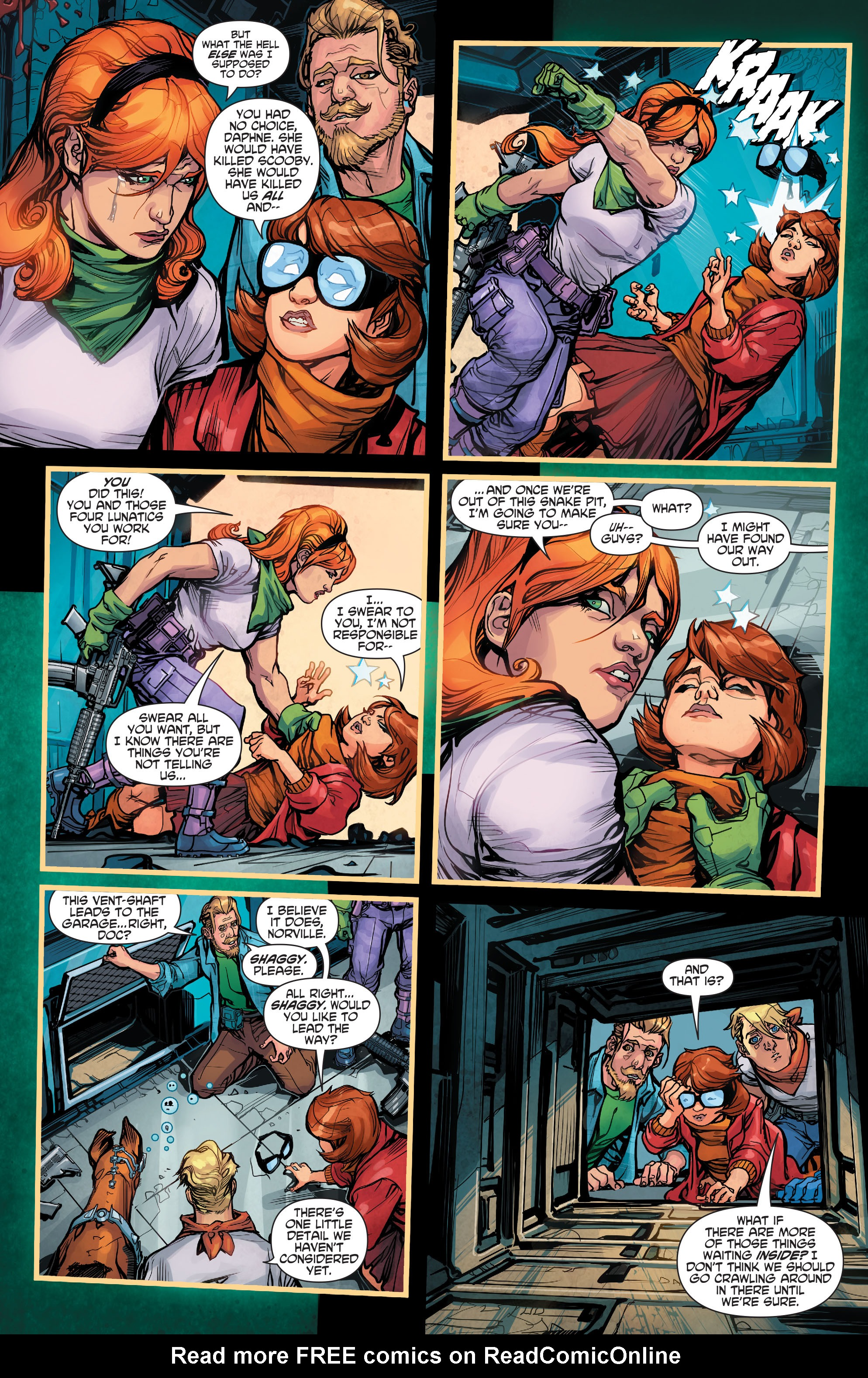Read online Scooby Apocalypse comic -  Issue #2 - 20