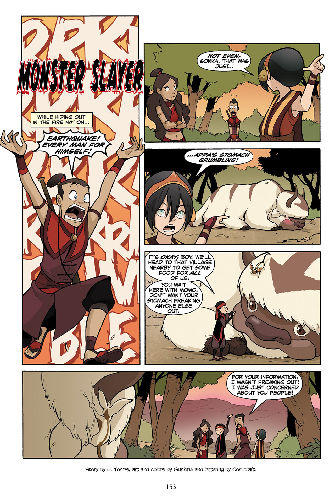 Nickelodeon Avatar: The Last Airbender - The Lost Adventures chap full pic 154