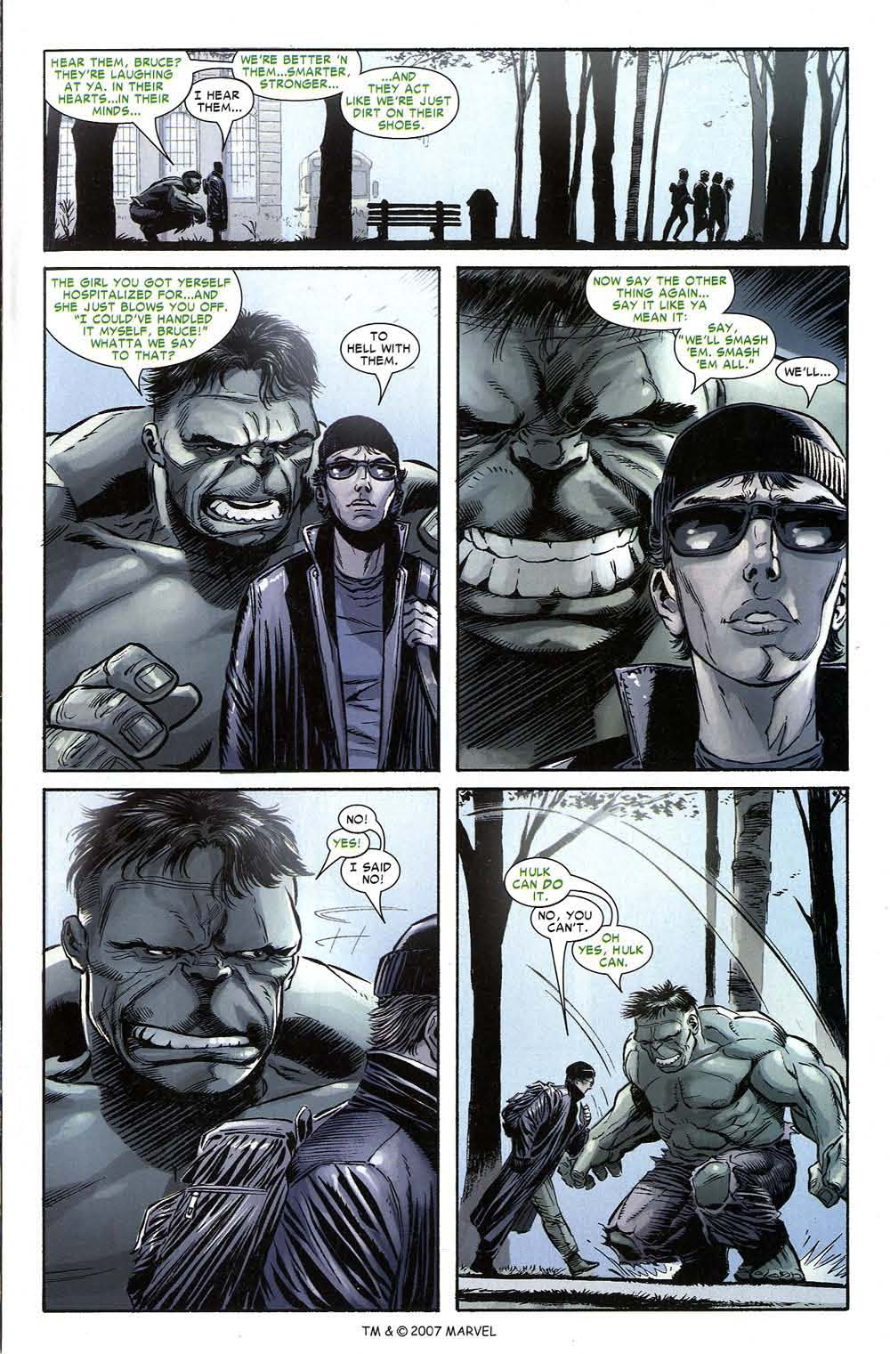 Read online The Incredible Hulk (2000) comic -  Issue #80 - 3