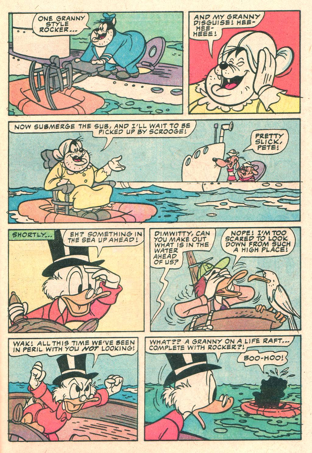 Uncle Scrooge (1953) Issue #205 #205 - English 29