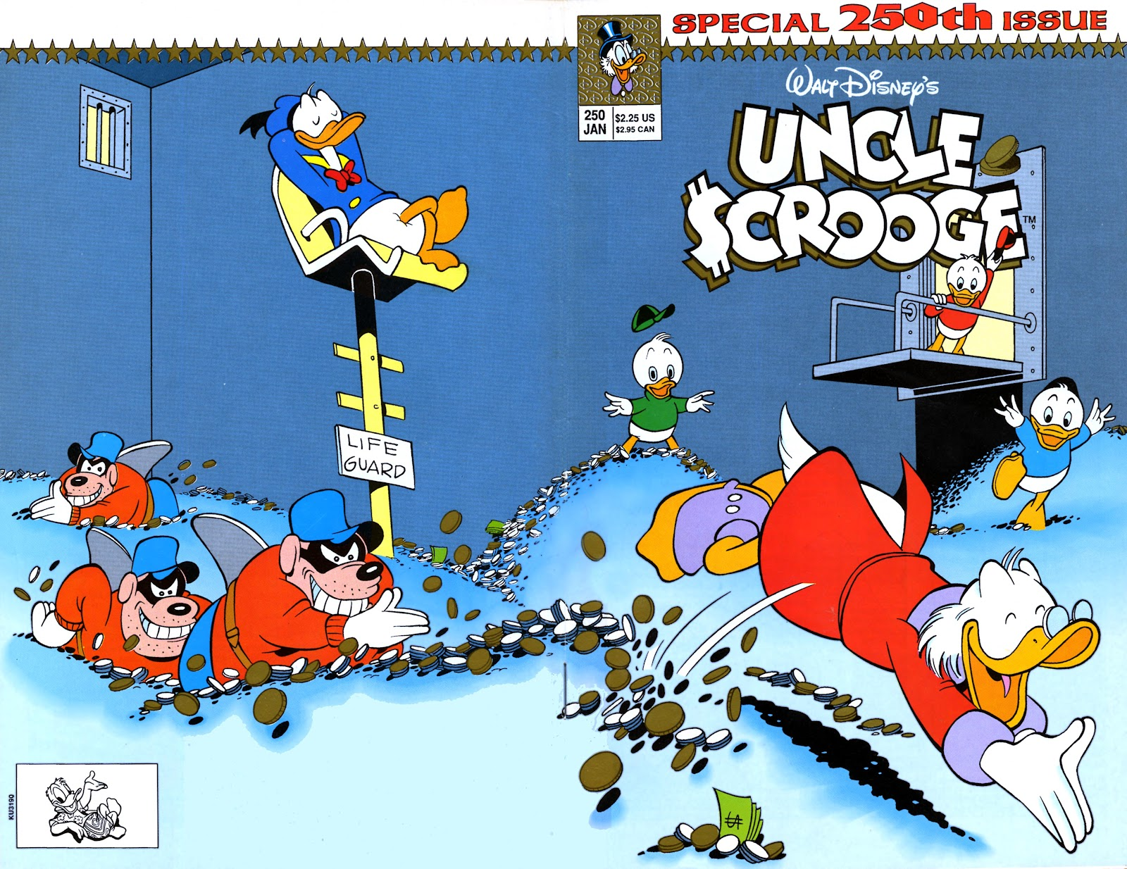 Uncle Scrooge (1953) Issue #250 #250 - English 1