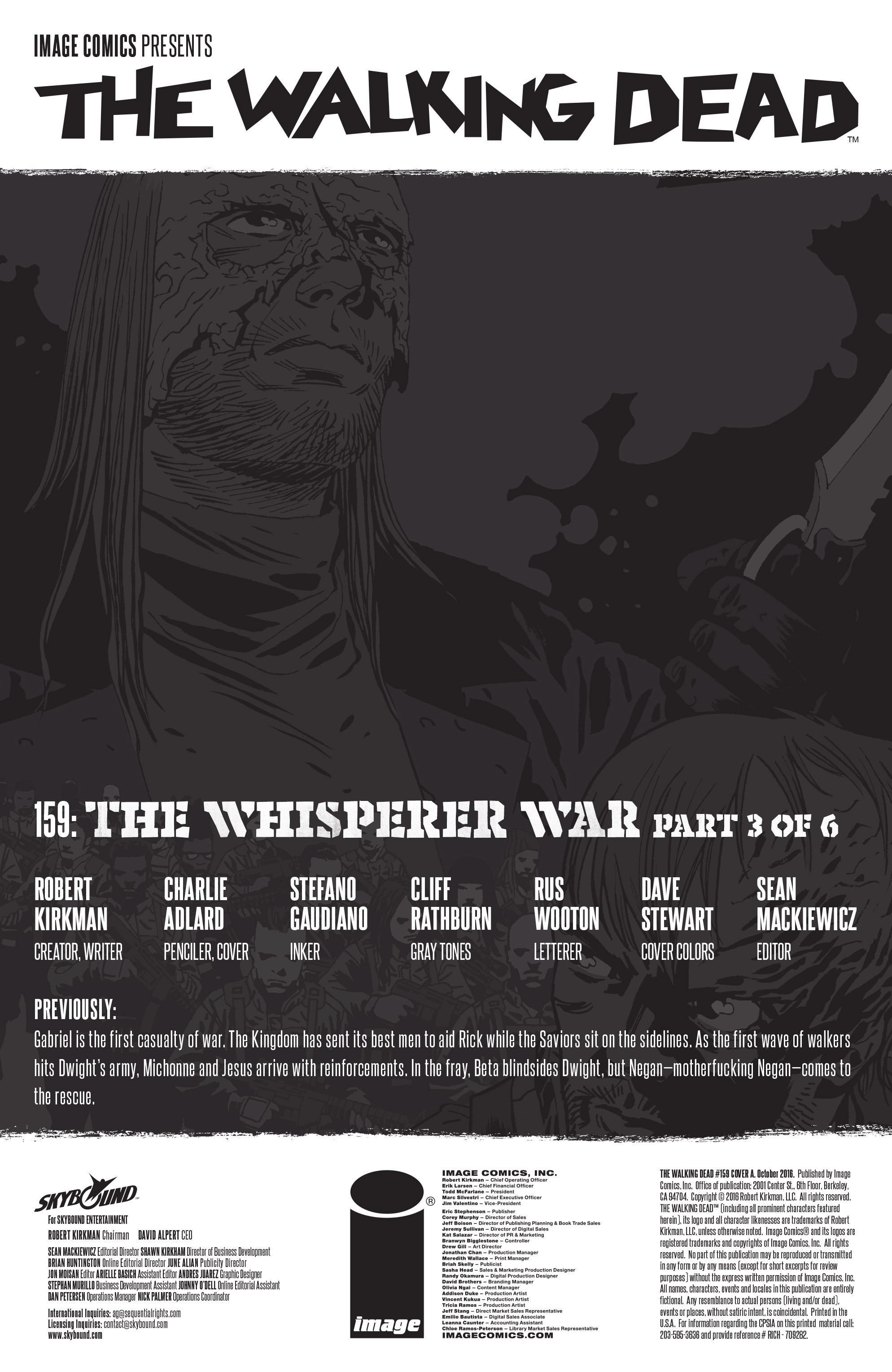 The Walking Dead 159 Page 2