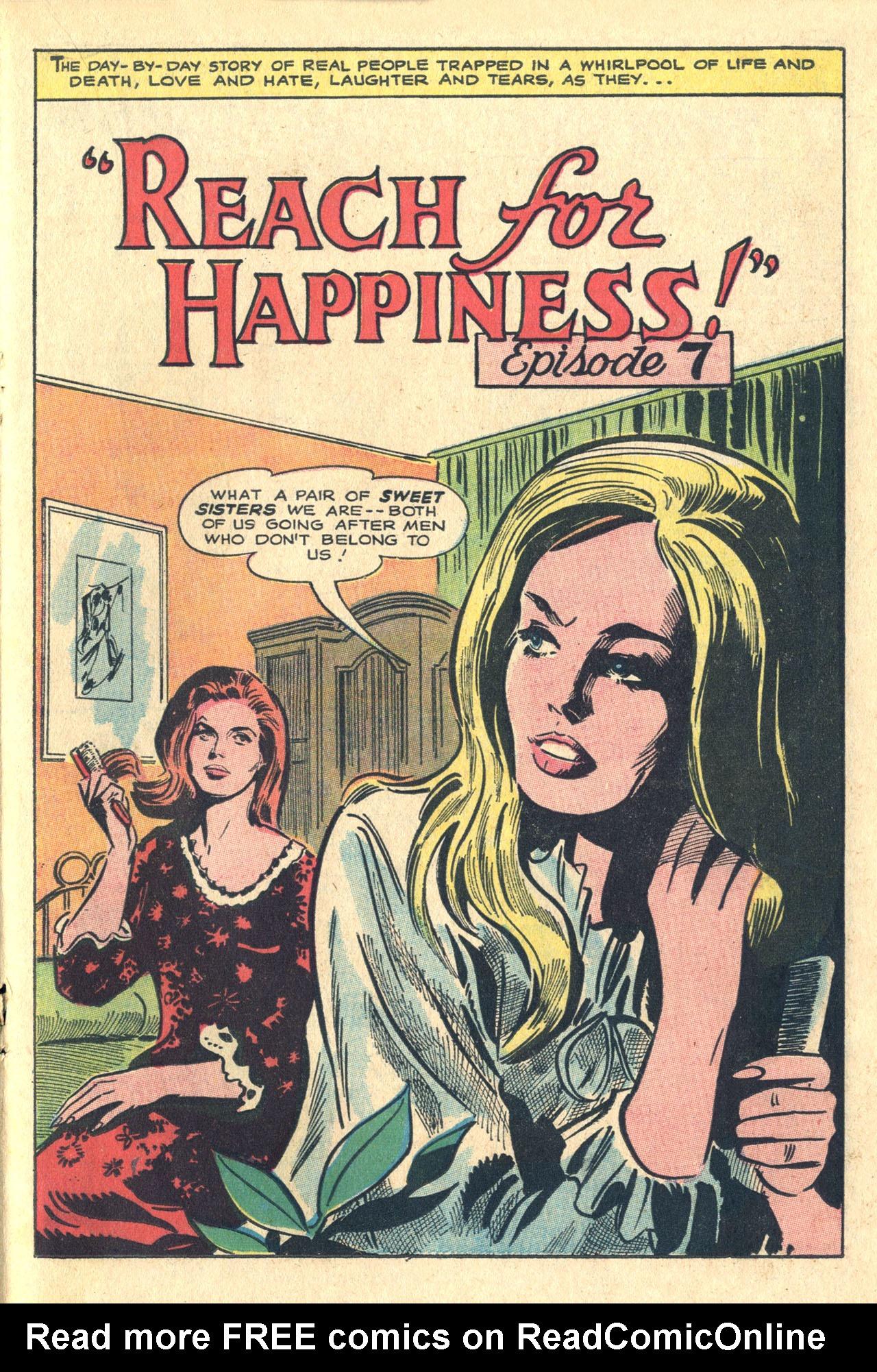 Read online Secret Hearts comic -  Issue #116 - 19