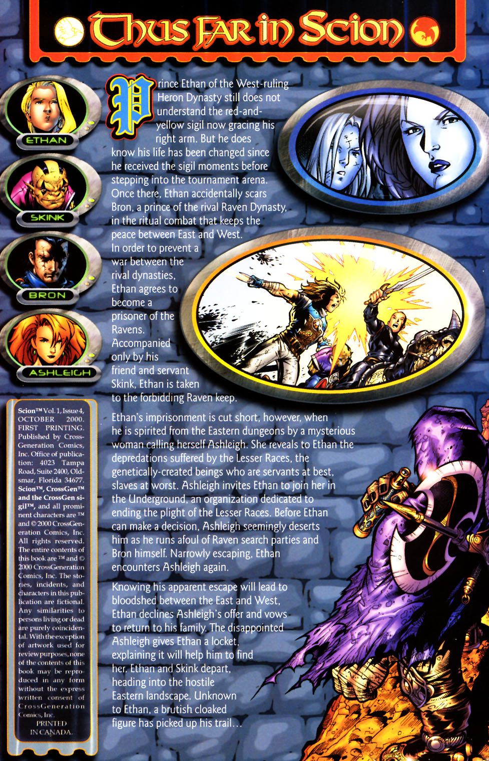 Read online Scion comic -  Issue #4 - 2