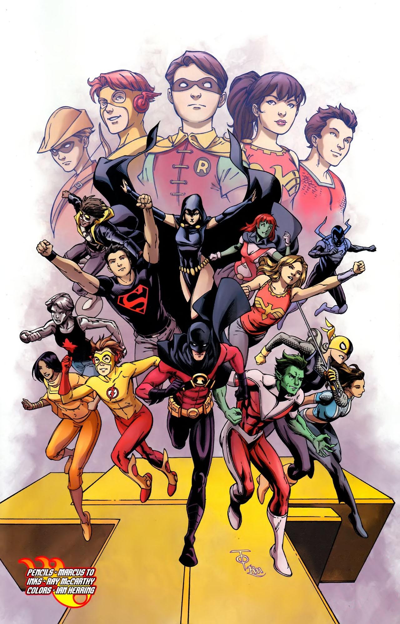 Teen Titans (2003) #100 #110 - English 38