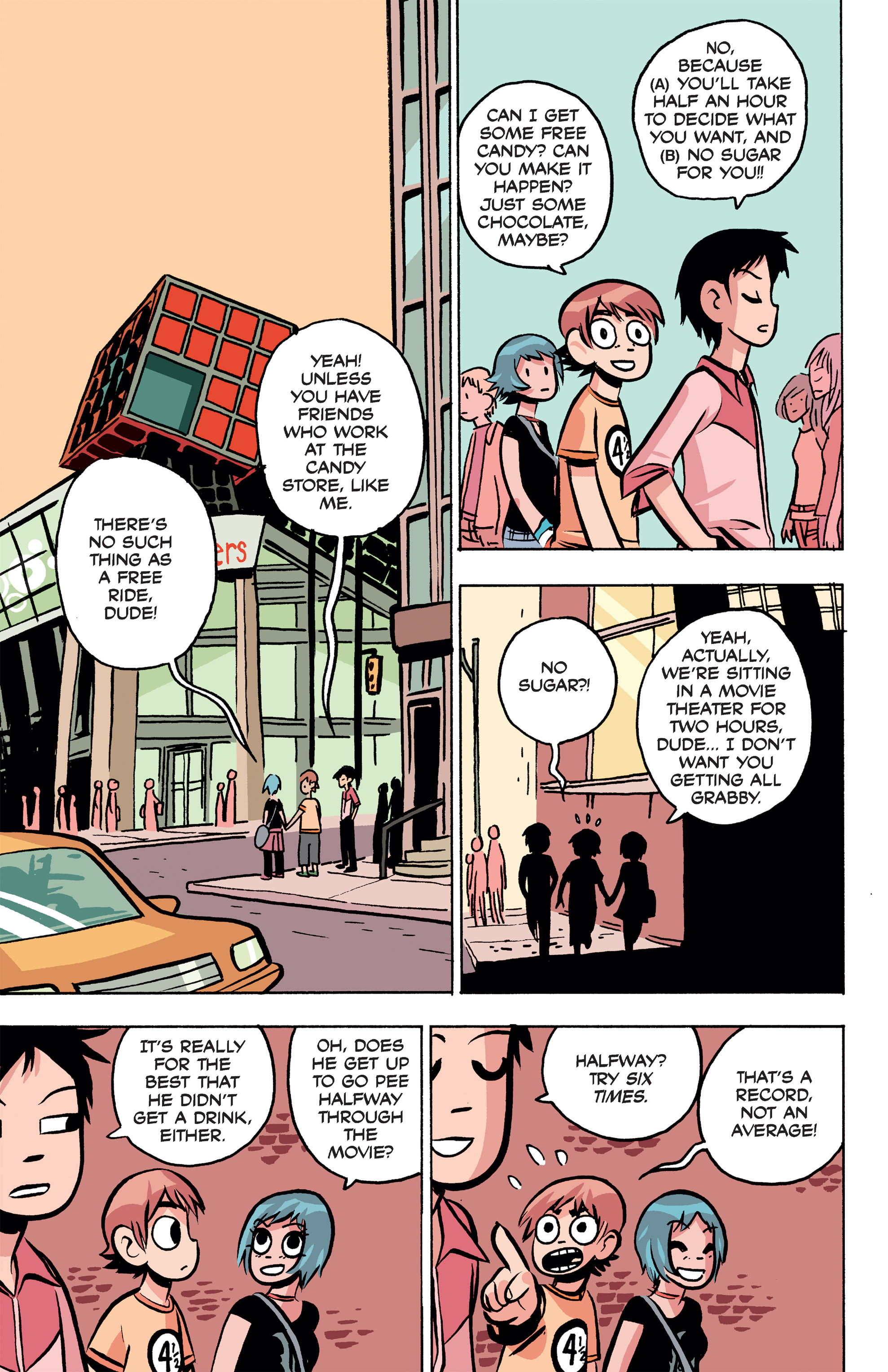 Read online Scott Pilgrim Free Comic Book Day Story comic -  Issue # Full - 5