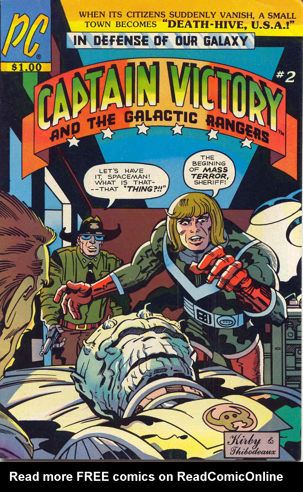 Captain Victory and the Galactic Rangers (1981) 2 Page 1