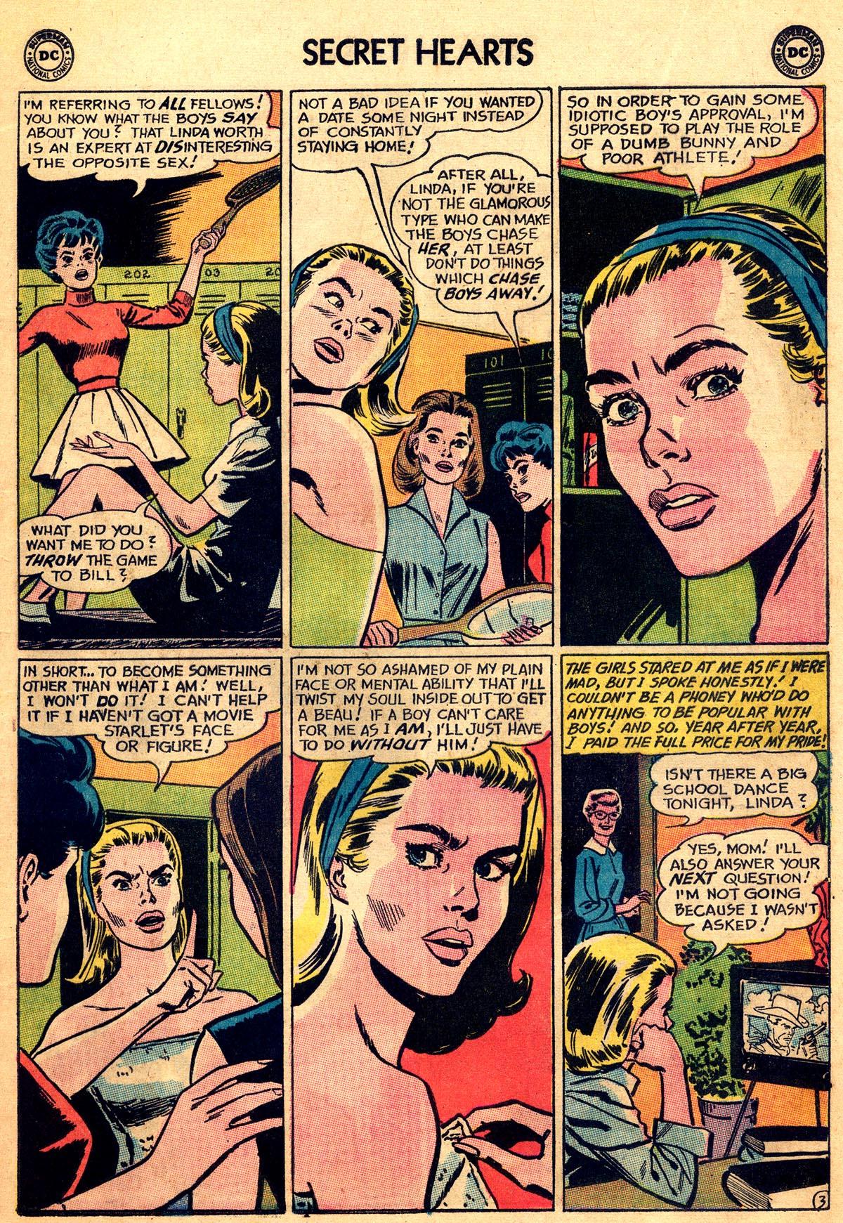 Read online Secret Hearts comic -  Issue #92 - 5