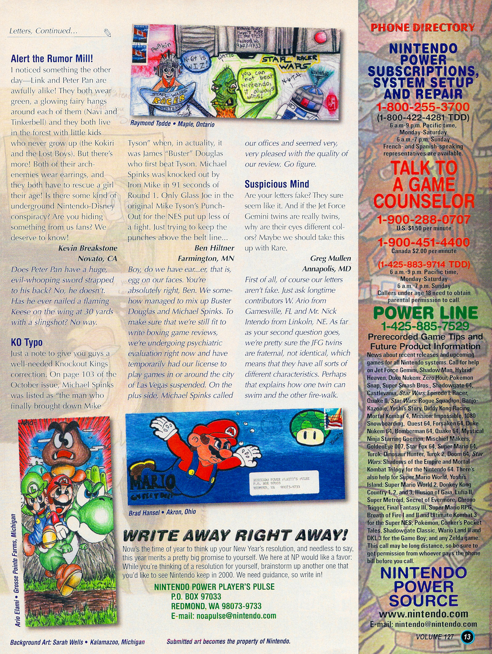 Nintendo Power #127 #127 - English 15