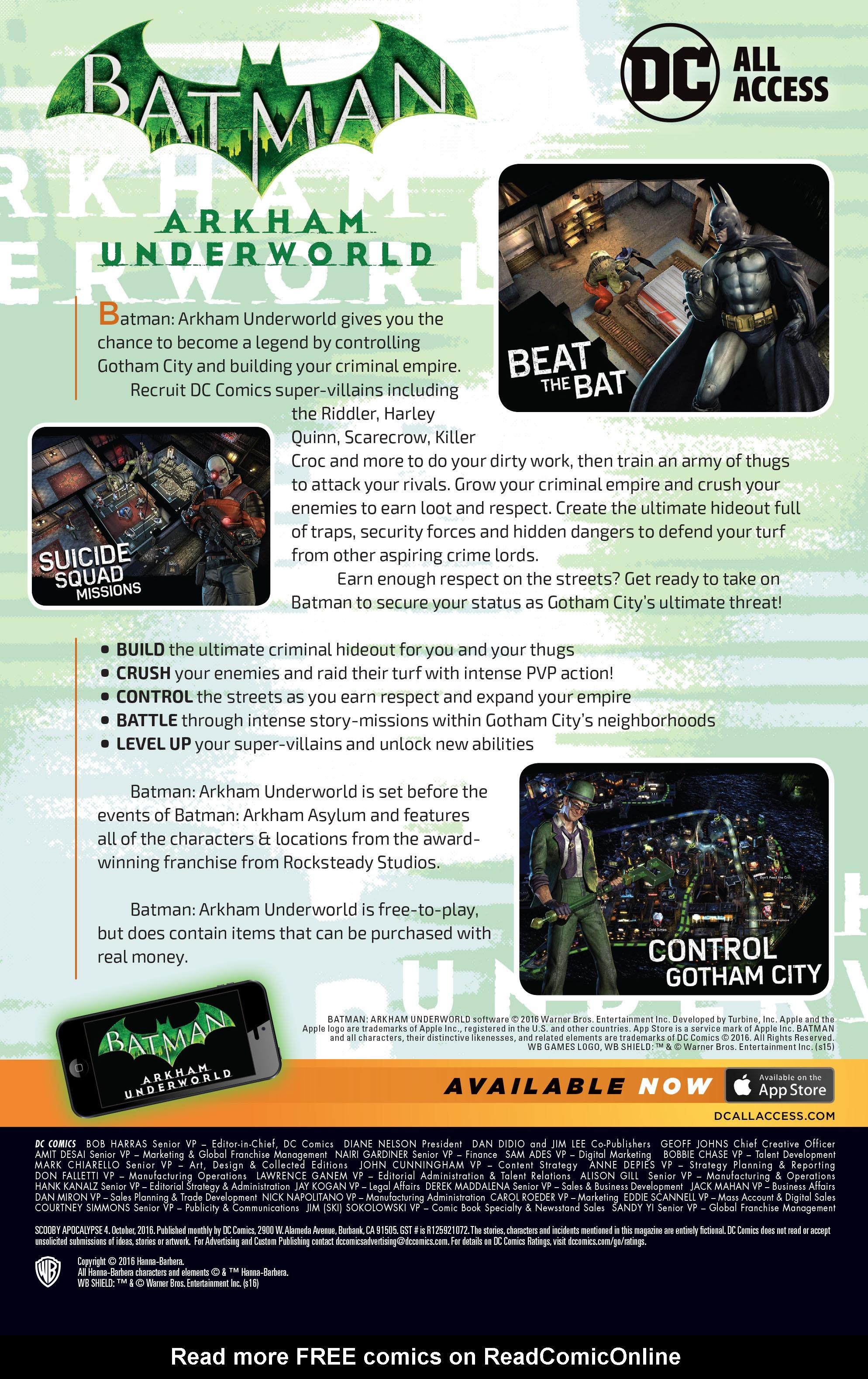 Read online Scooby Apocalypse comic -  Issue #4 - 27