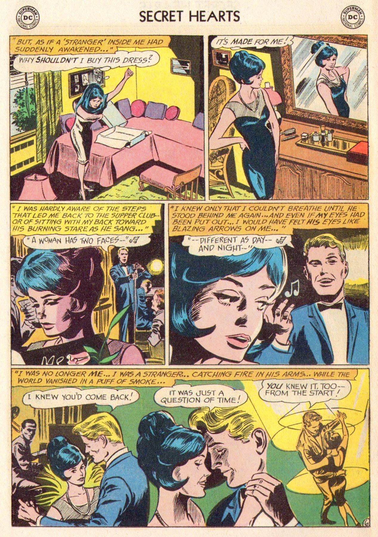 Read online Secret Hearts comic -  Issue #104 - 26