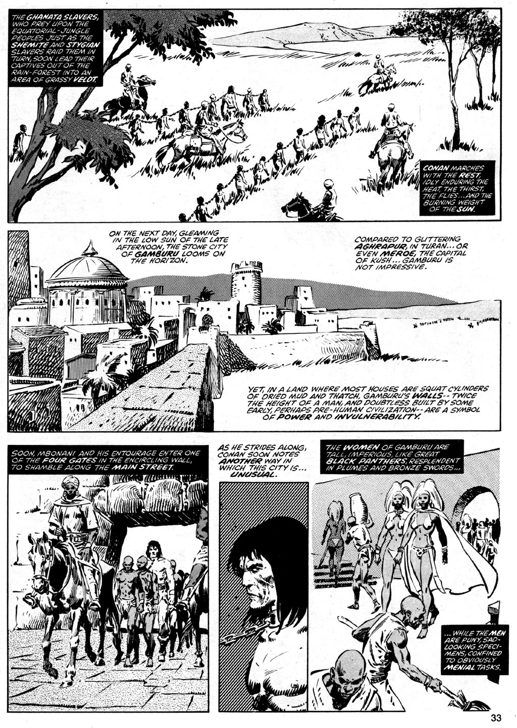 The Savage Sword Of Conan Issue #41 #42 - English 33