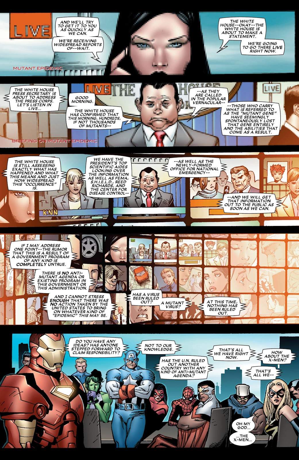 House of M (2005) Issue #8 #8 - English 16