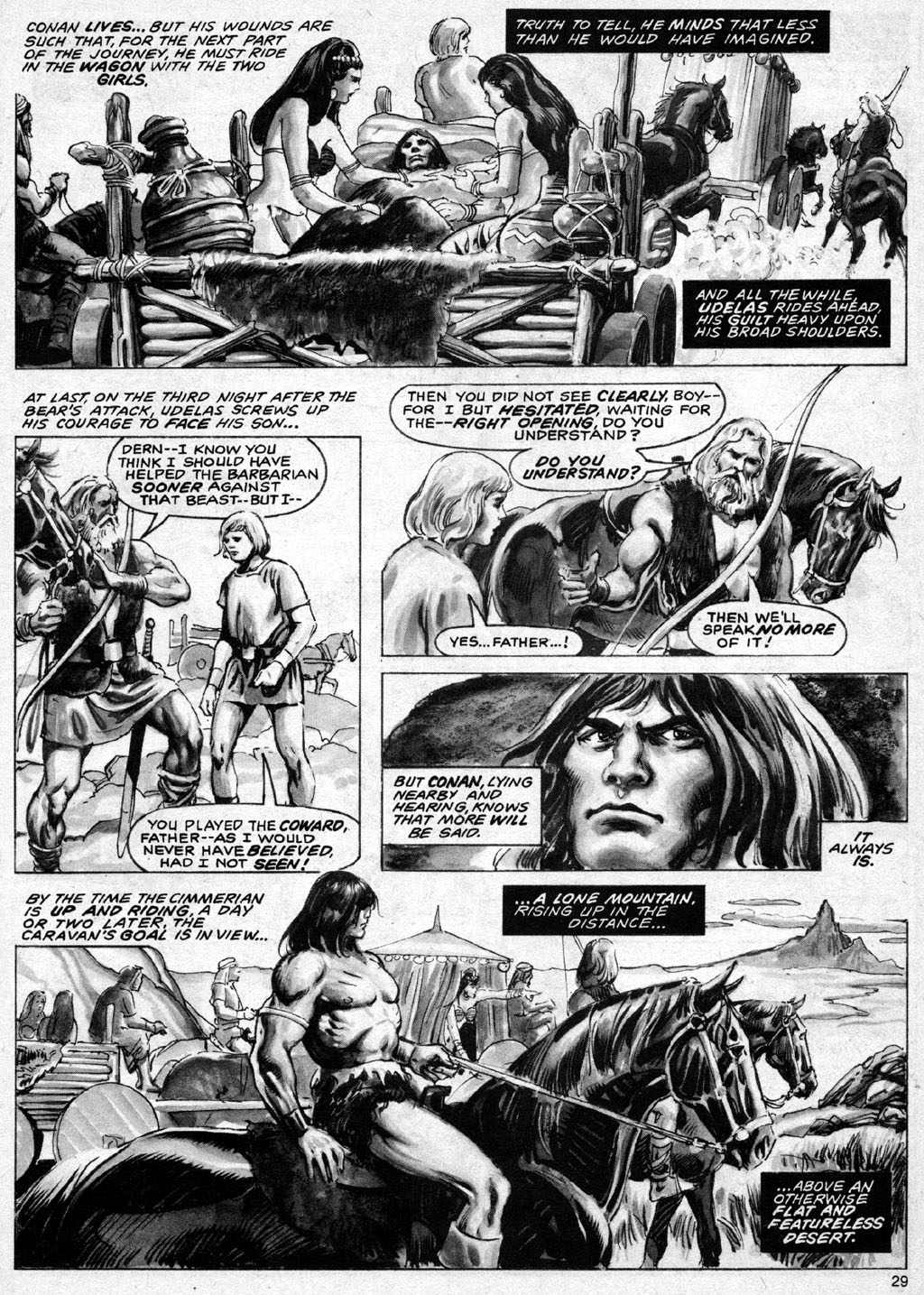 The Savage Sword Of Conan Issue #69 #70 - English 29