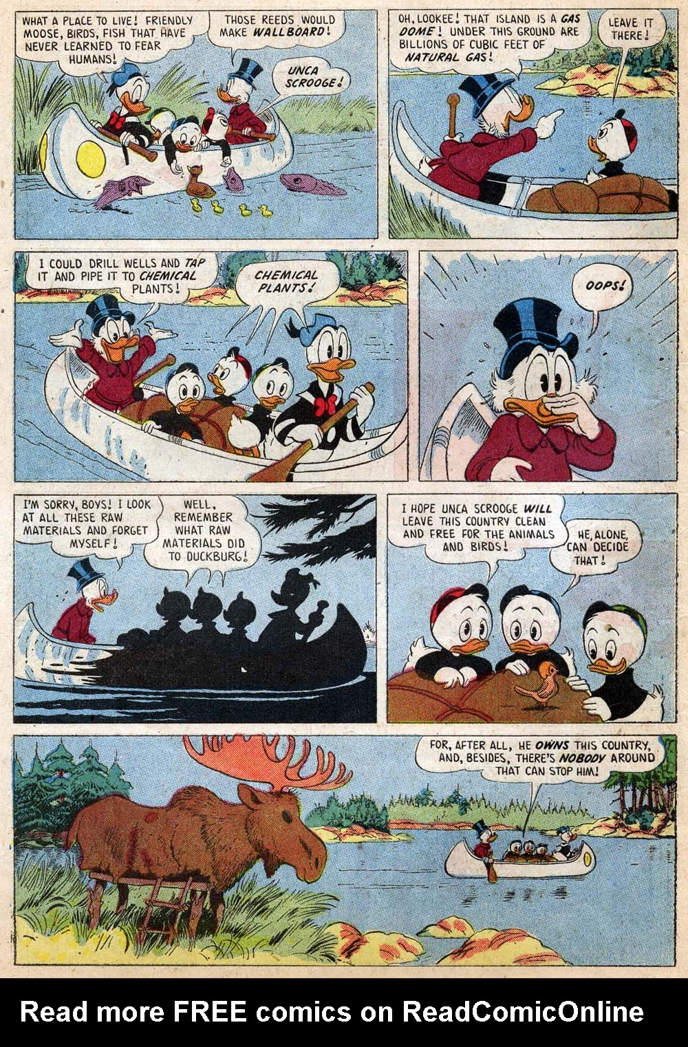 Uncle Scrooge (1953) Issue #18 #18 - English 6