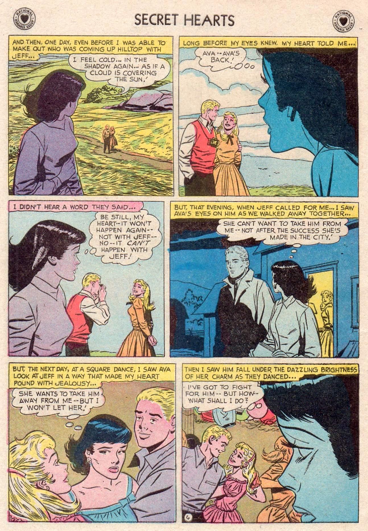 Read online Secret Hearts comic -  Issue #46 - 32