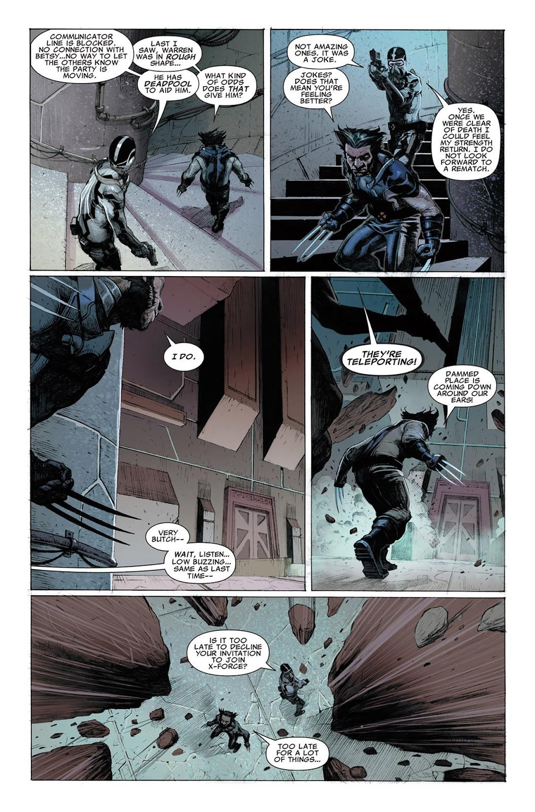 Uncanny X-Force (2010) Issue #3 #3 - English 22