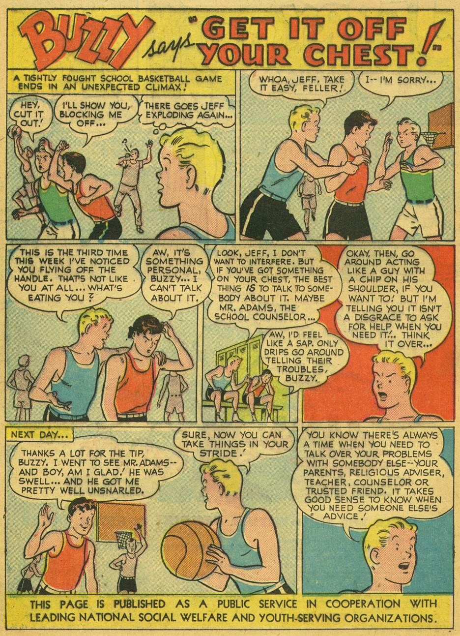 Read online Adventure Comics (1938) comic -  Issue #164 - 34