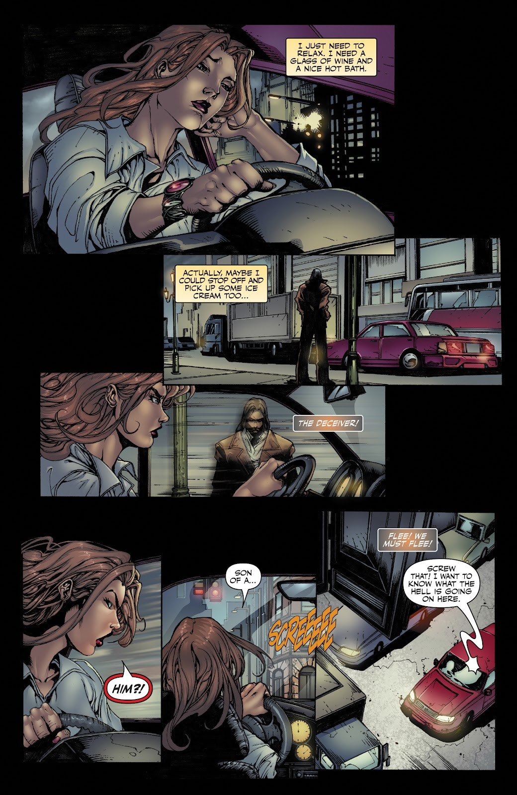 Read online Witchblade: Shades of Gray comic -  Issue #1 - 11