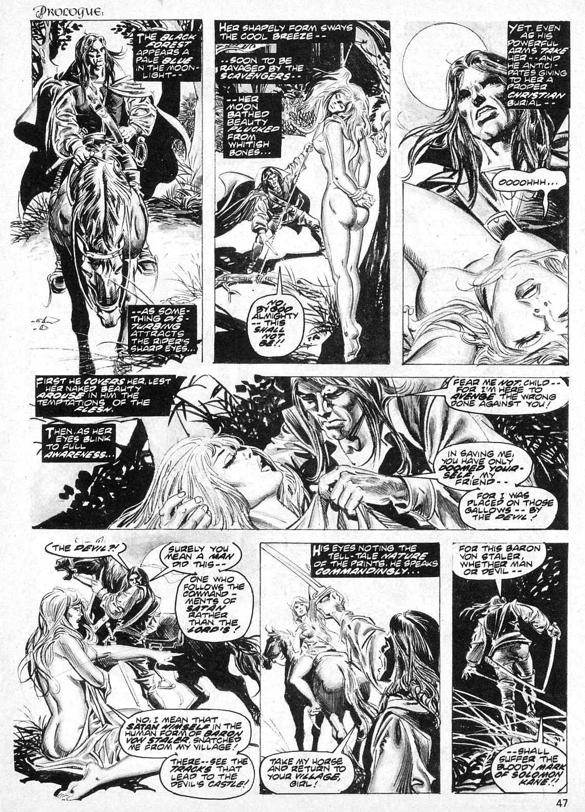 The Savage Sword Of Conan Issue #19 #20 - English 47