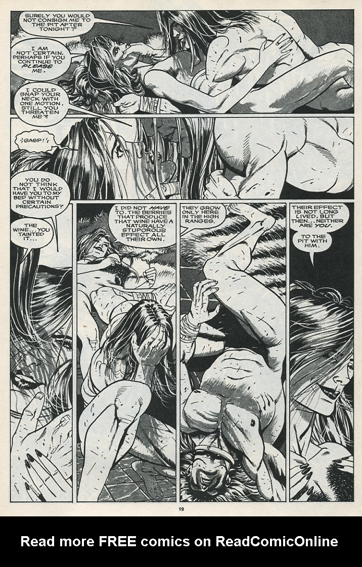 The Savage Sword Of Conan Issue #176 #177 - English 21