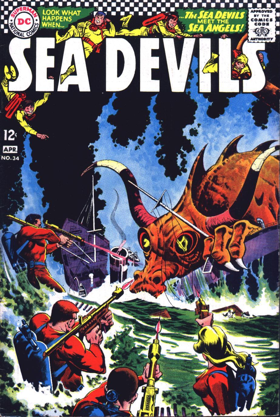 Read online Sea Devils comic -  Issue #34 - 2