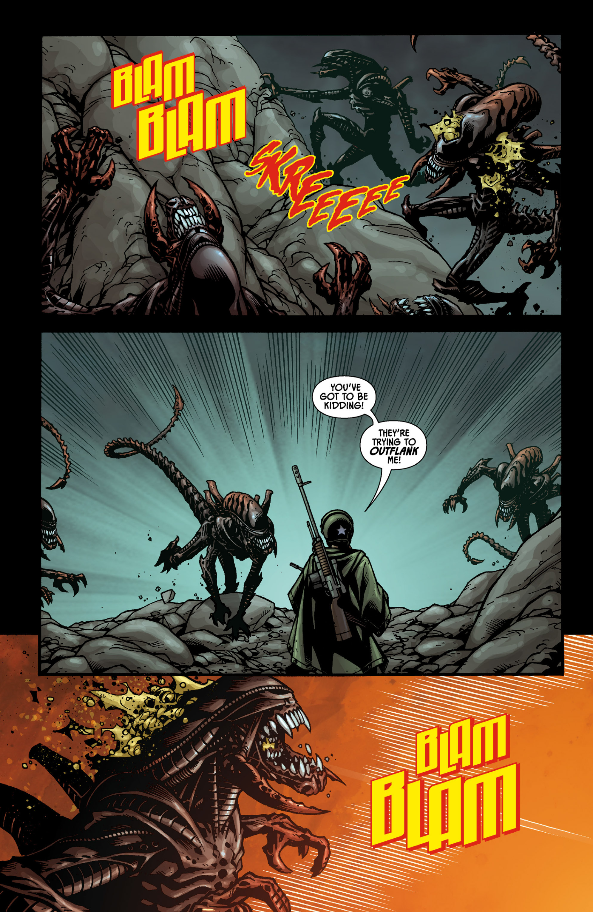 Aliens (2009) TPB Page 50