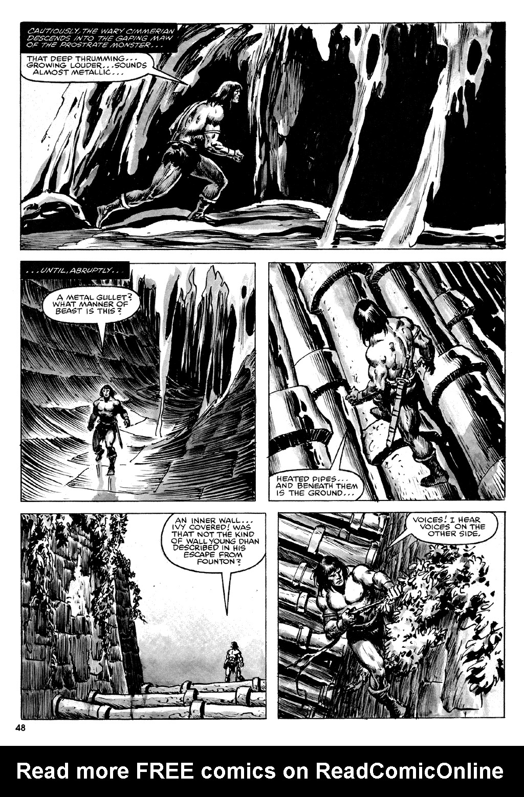 The Savage Sword Of Conan Issue #72 #73 - English 48