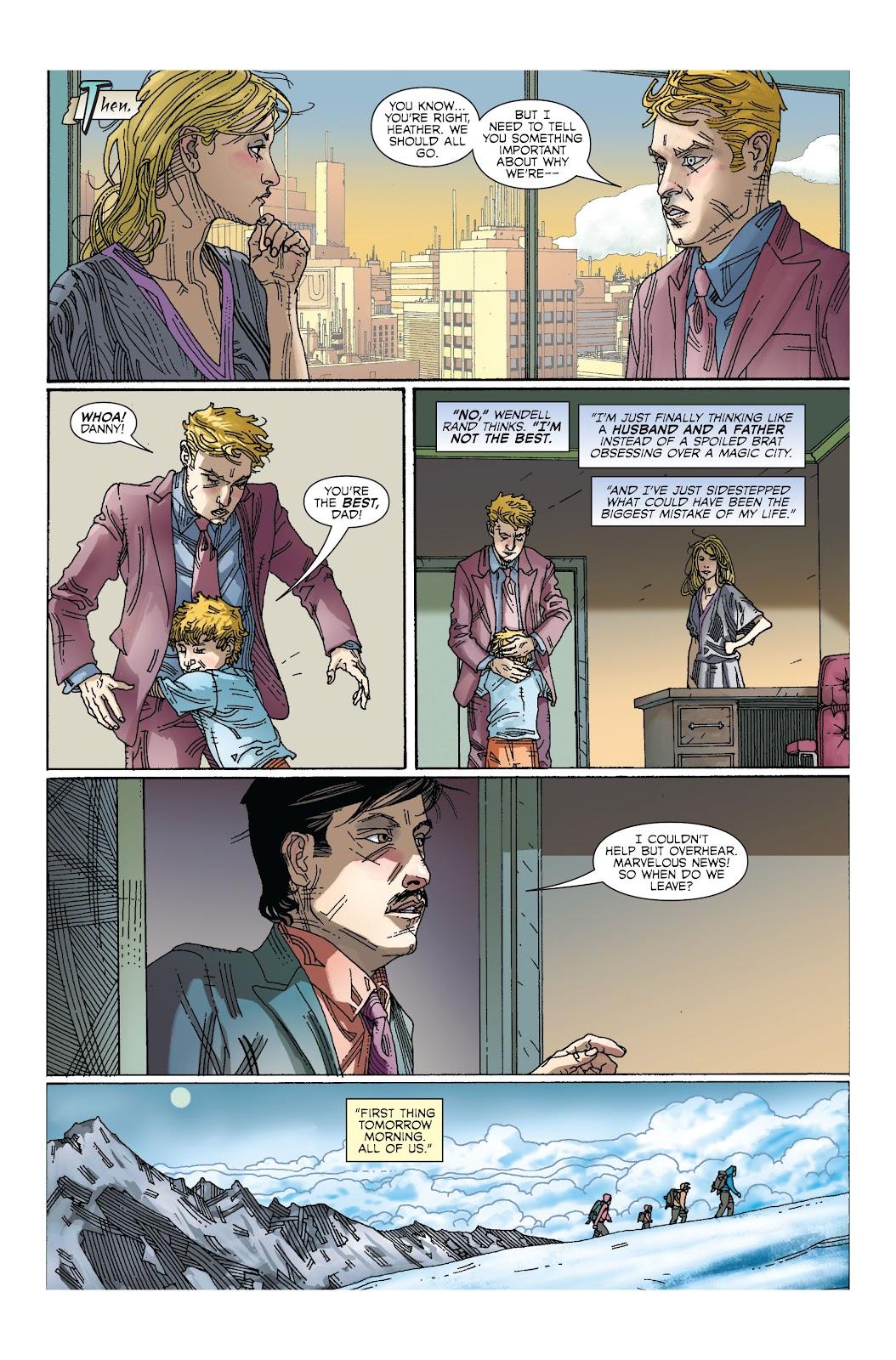 The Immortal Iron Fist Issue #27 #28 - English 17