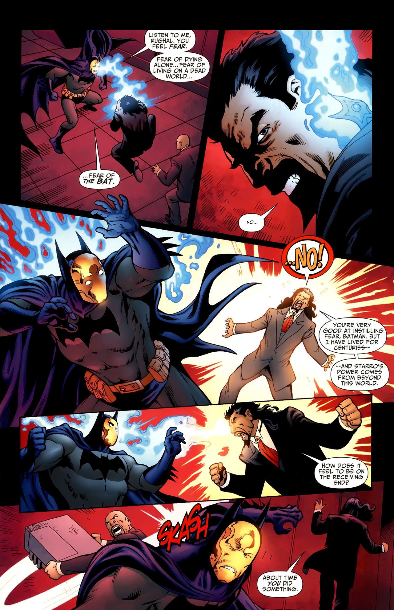 Read online Justice League of America/The 99 comic -  Issue #6 - 5
