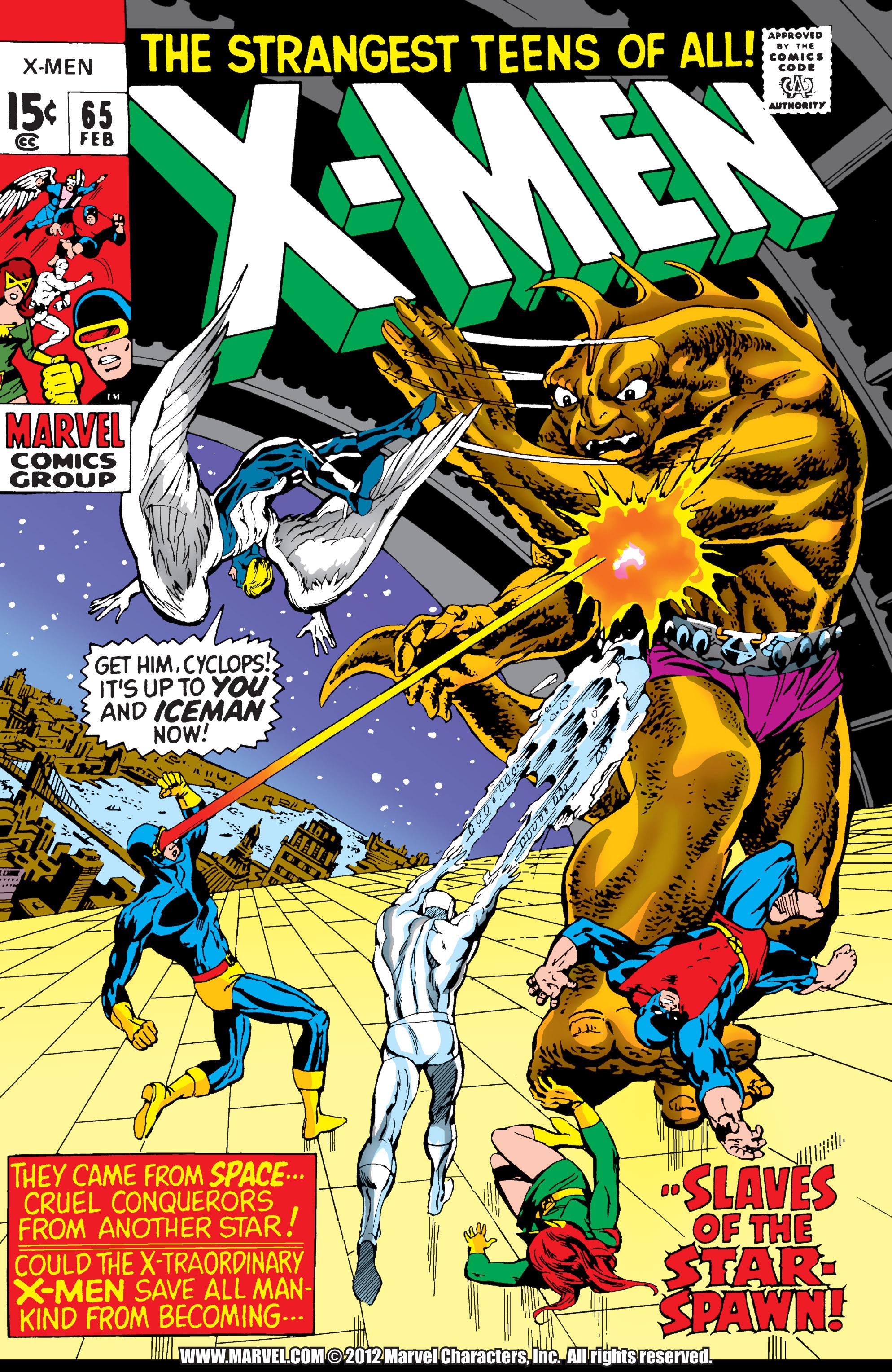 Uncanny X-Men (1963) 65 Page 1