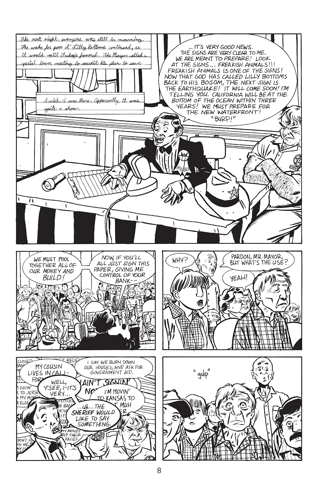 Stray Bullets Issue #13 #13 - English 10