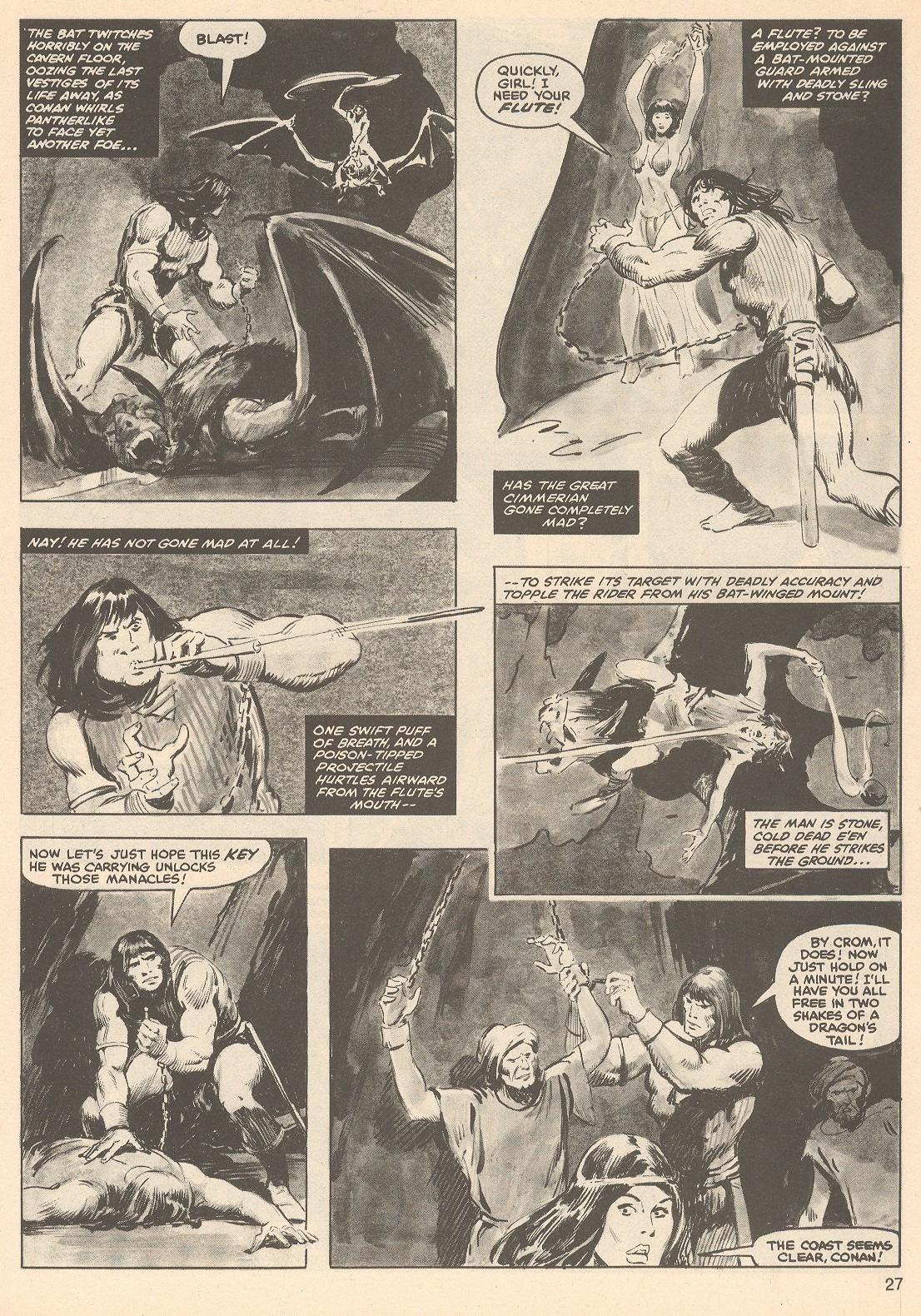 The Savage Sword Of Conan Issue #76 #77 - English 27