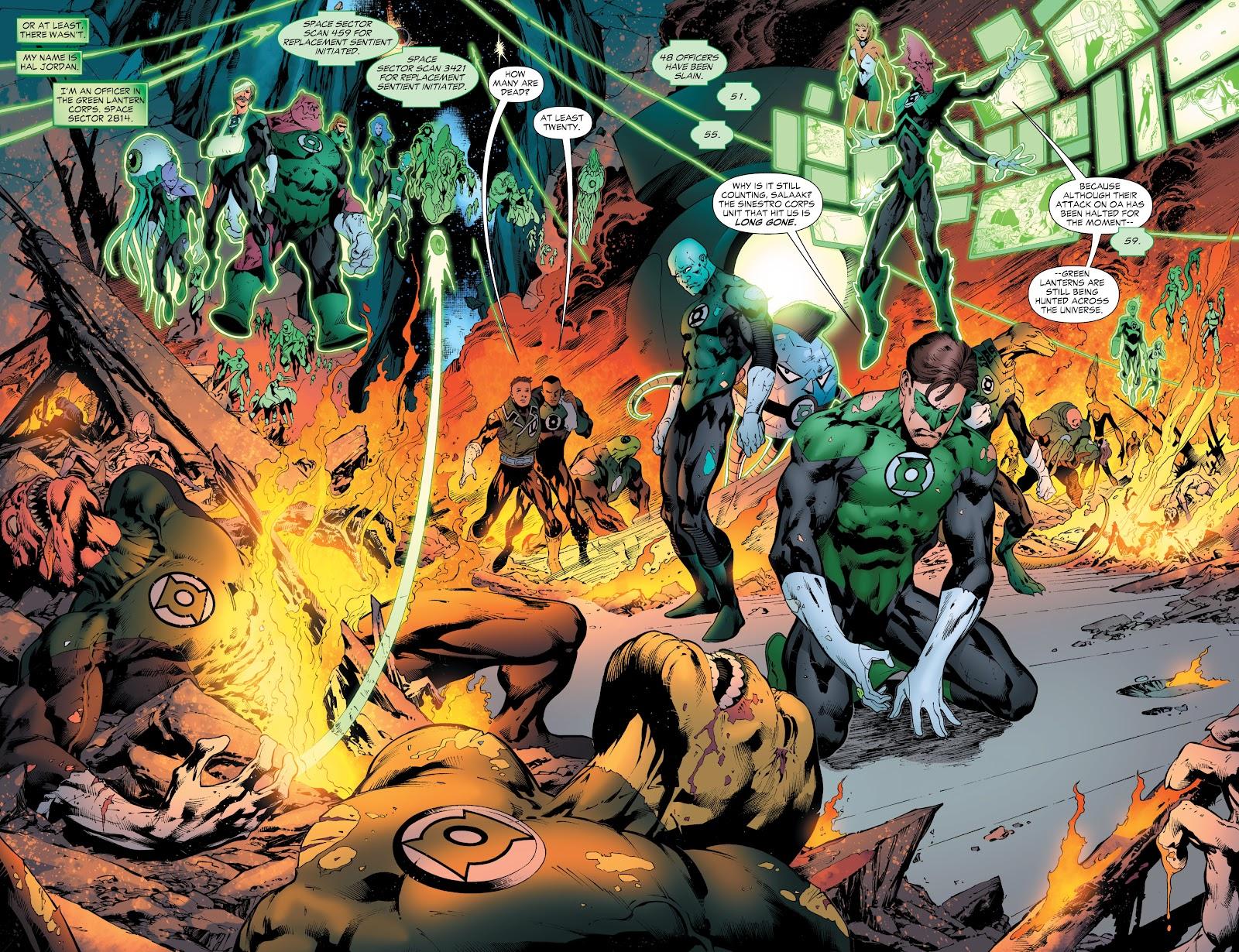 Green Lantern: The Sinestro Corps War Full #1 - English 54