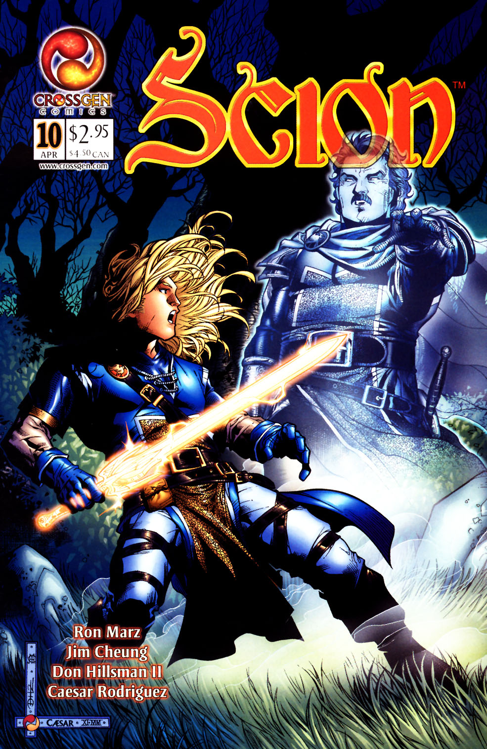 Read online Scion comic -  Issue #10 - 1
