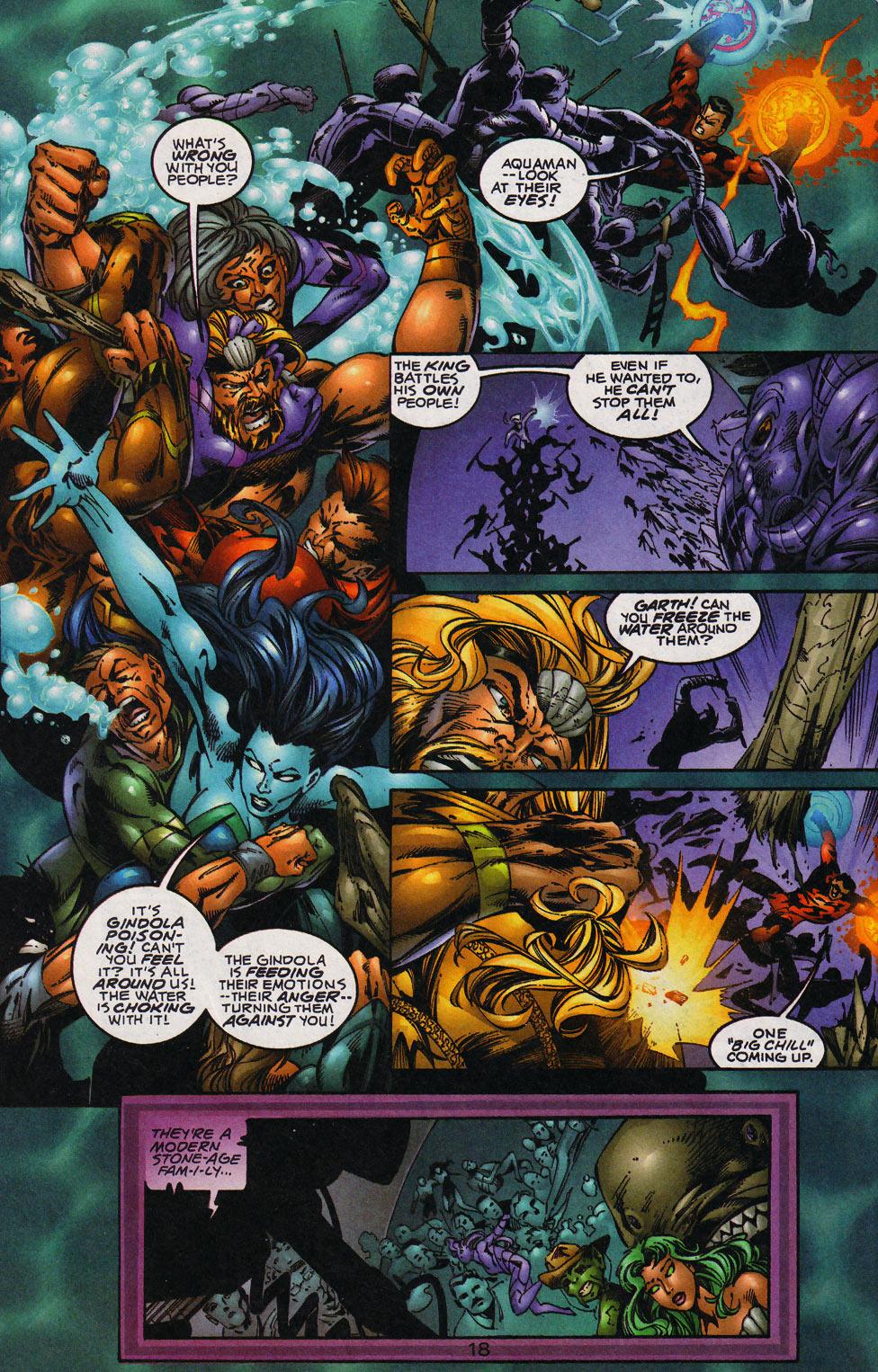 Aquaman (1994) Issue #59 #65 - English 19