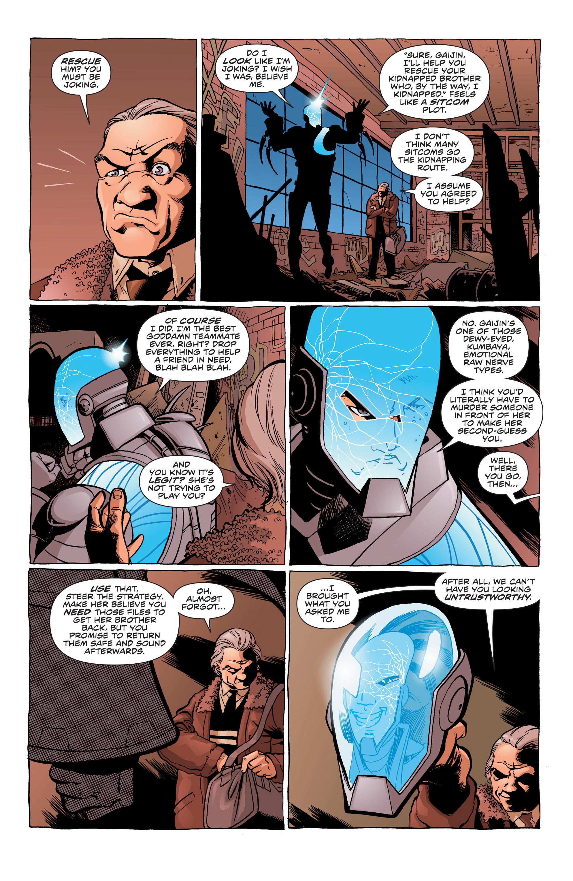 Read online Secret Identities comic -  Issue #5 - 7
