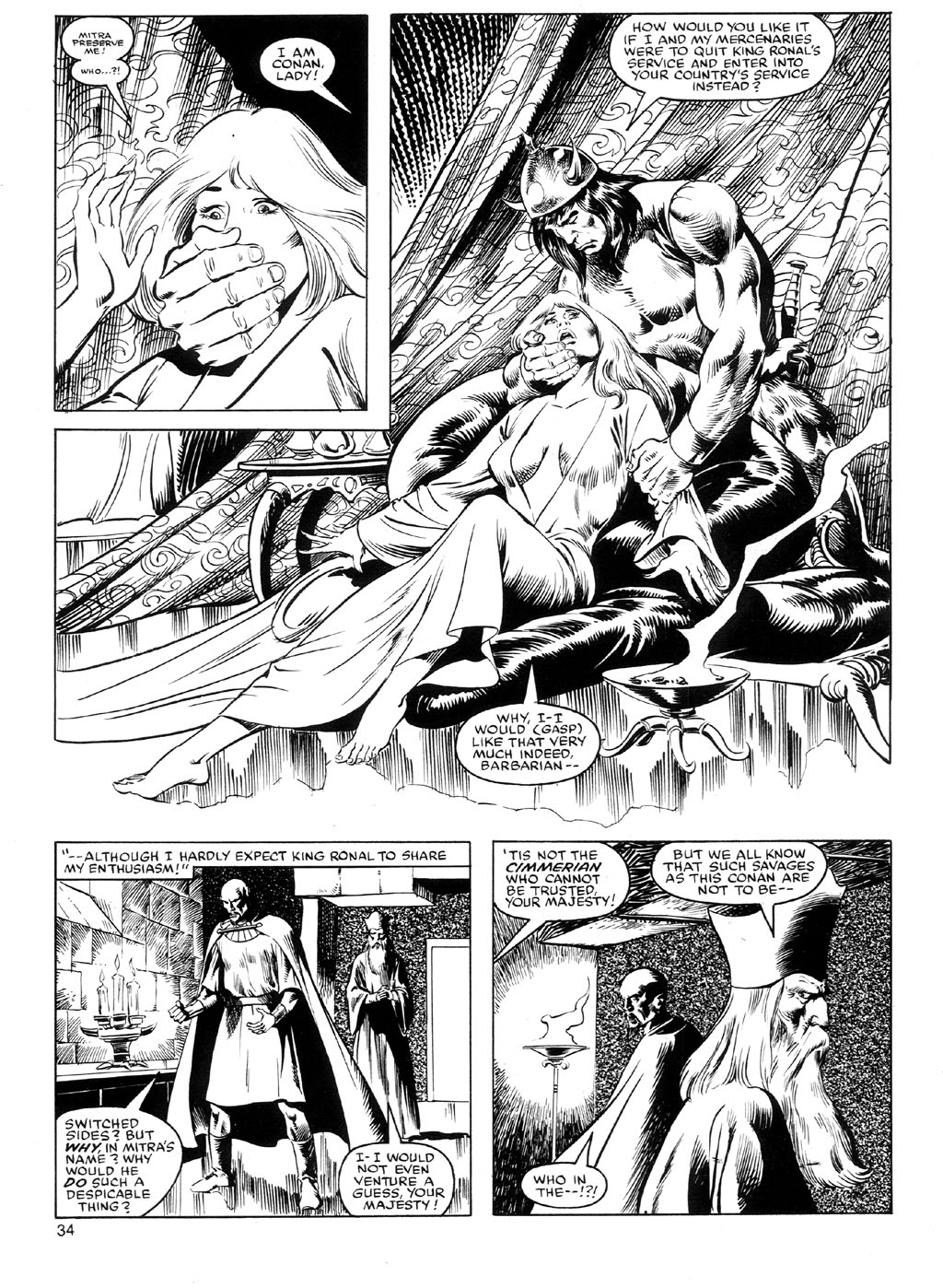 The Savage Sword Of Conan Issue #91 #92 - English 33
