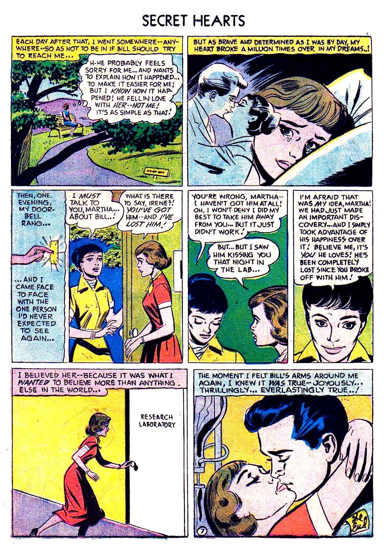 Read online Secret Hearts comic -  Issue #41 - 16
