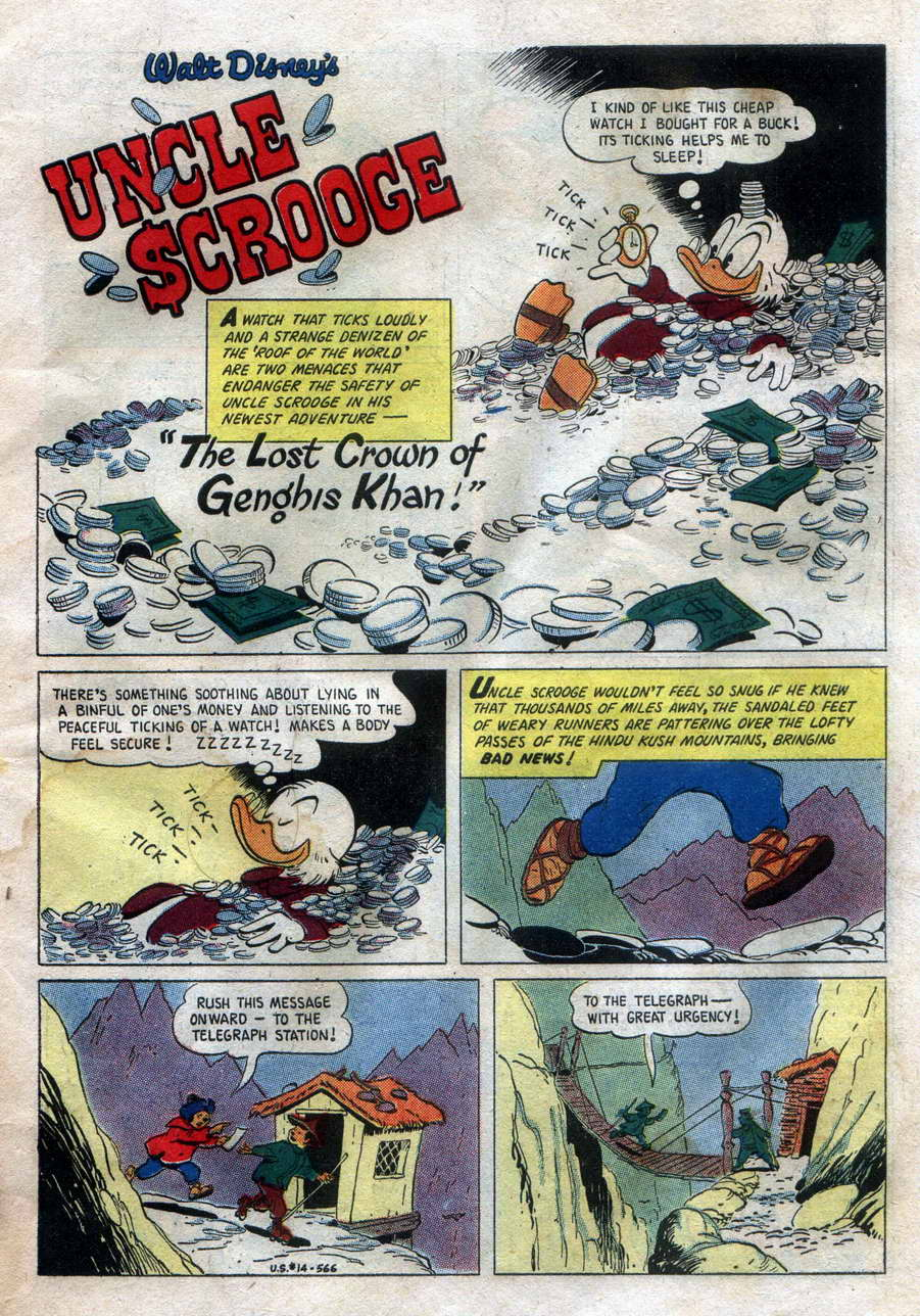 Uncle Scrooge (1953) Issue #14 #14 - English 3