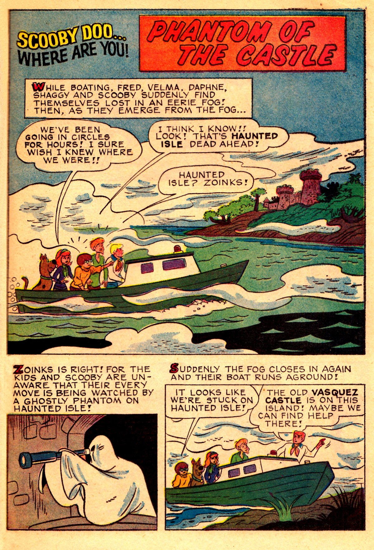 Read online Scooby-Doo... Where Are You! (1970) comic -  Issue #2 - 16