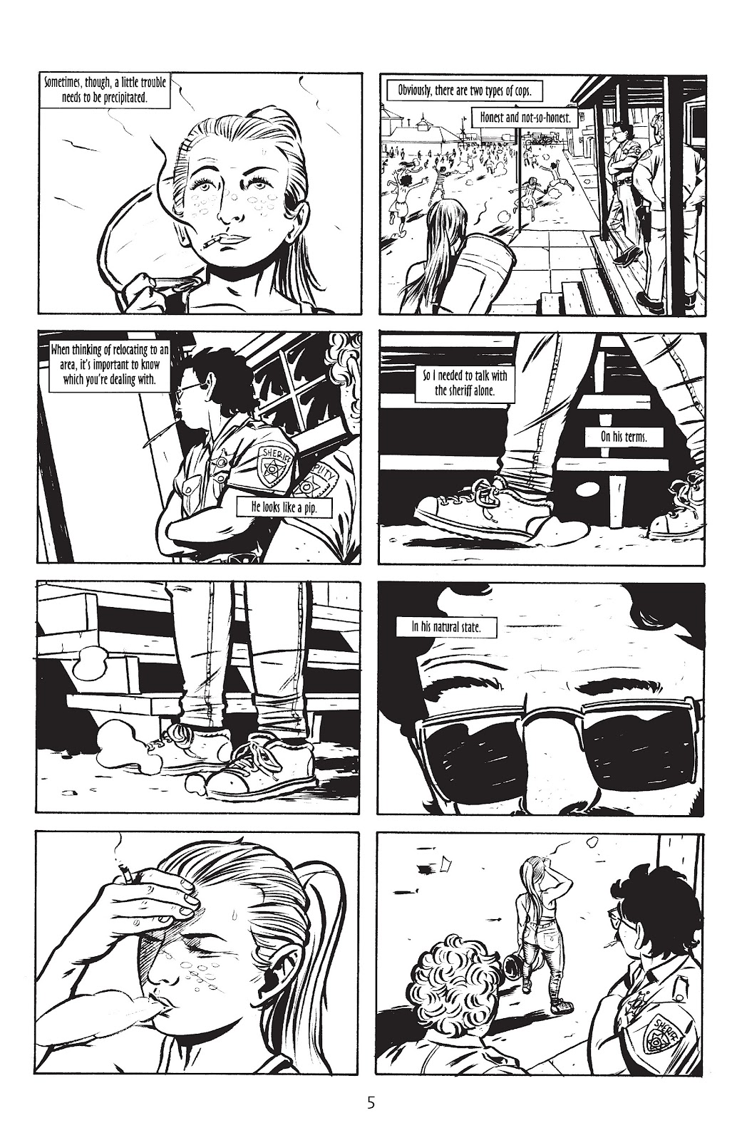Stray Bullets Issue #10 #10 - English 7