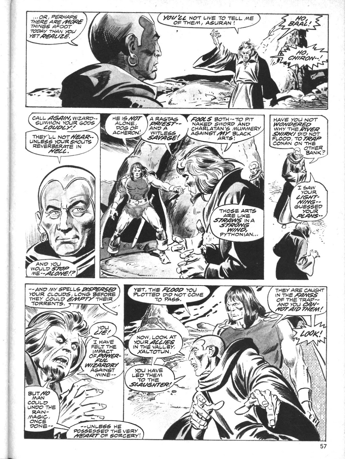 The Savage Sword Of Conan Issue #10 #11 - English 45