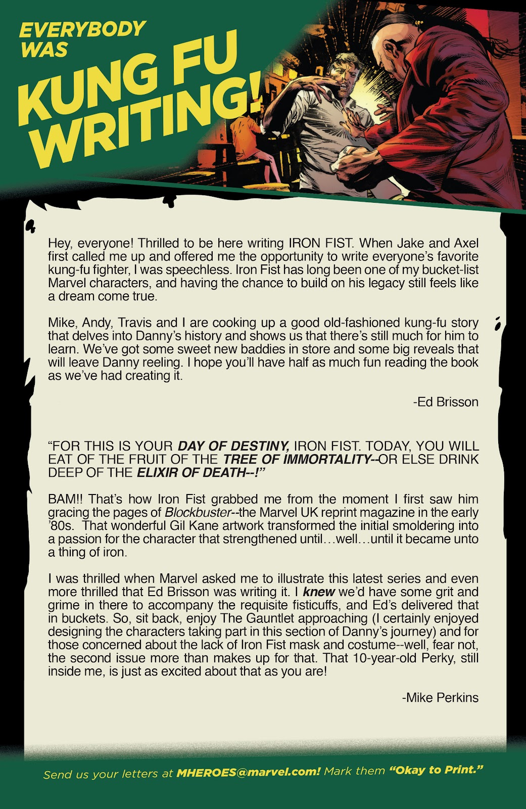 Iron Fist (2017) Issue #1 #1 - English 23