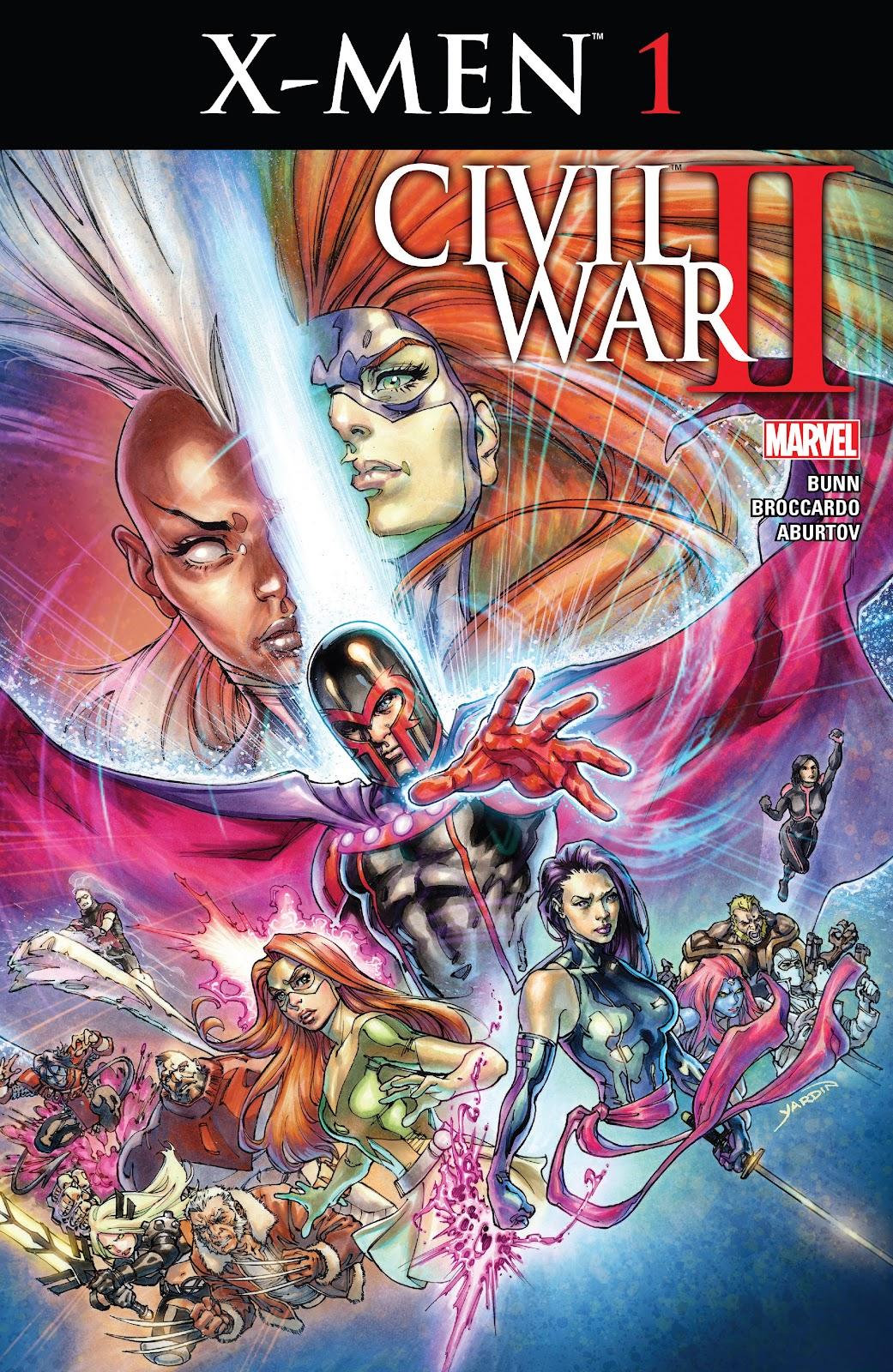 Civil War II: X-Men Issue #1 #1 - English 1